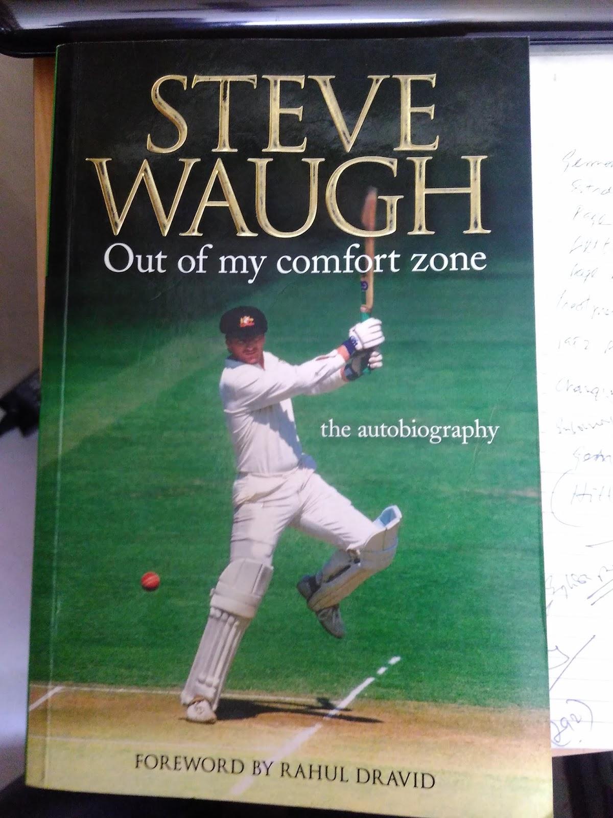 out of my comfort zone steve waugh ebook