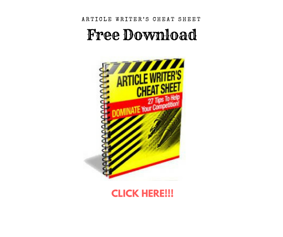 ebook how to write articles
