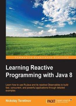 learning reactive programming with java 8 epub