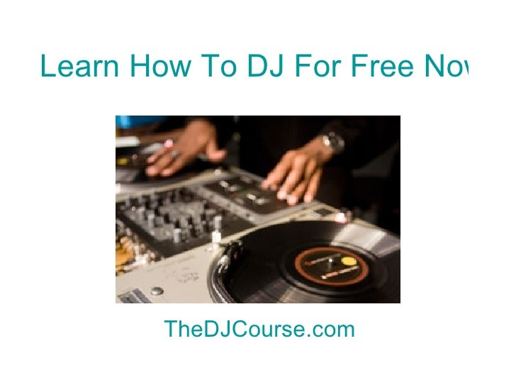 how to dj properly ebook free download