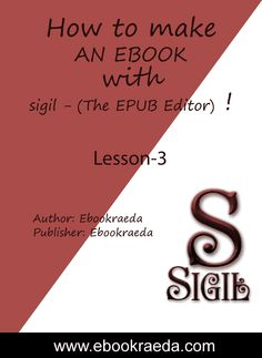 how to make epub ebook