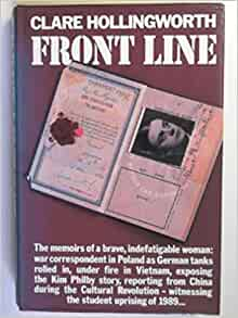 front line clare hollingworth ebook