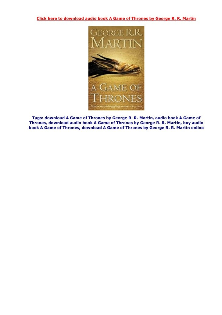 download game of thrones ebooks kindle