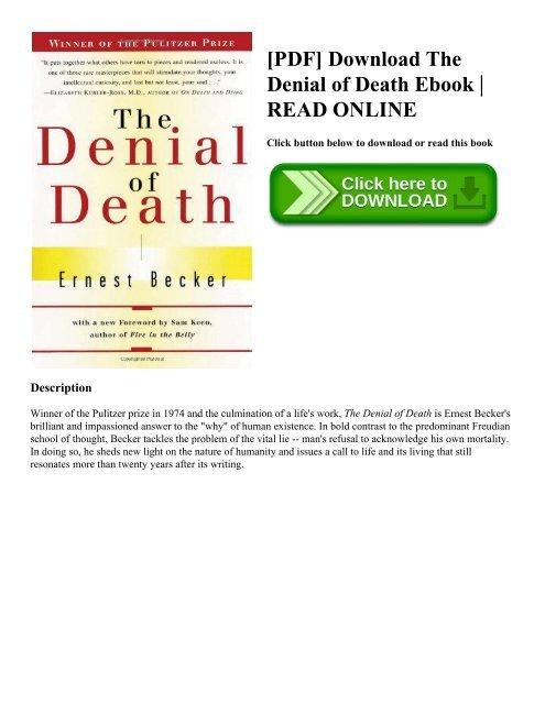 the denial of death epub