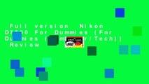 nikon d3100 for dummies ebook free download