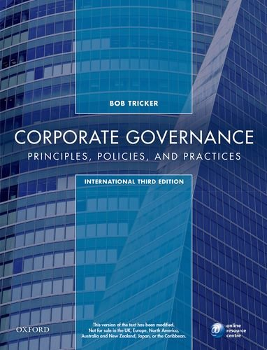 corporate governance principles policies and practices 3rd edition ebook