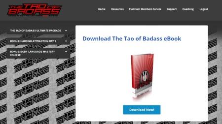 the tao of badass ebook password