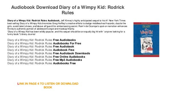 diary of a wimpy kid book 1 ebook free download